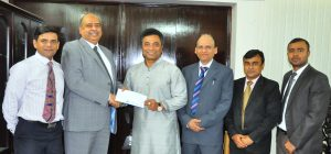 FSIBL Donates BDT I5 Lac to Dhaka North City Corporation (DNCC) for CCTV Surveillance Project