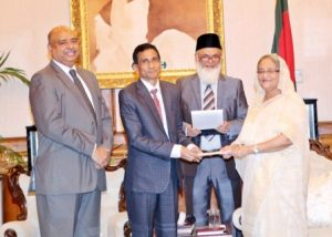FSIBL_Press Release_FSIBL Handed Over a Cheque to Prime Minister Relief Fund