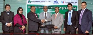 FSIBL Press Release_South East Bank Ltd & FSIBL Sign Agreement for RIA Remittance Service